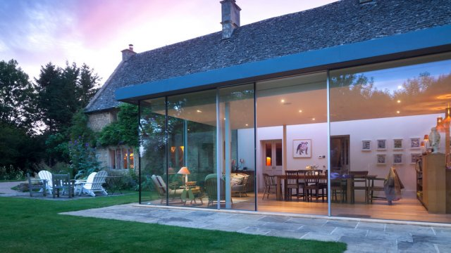 Sky-Frame Kitchen Extension