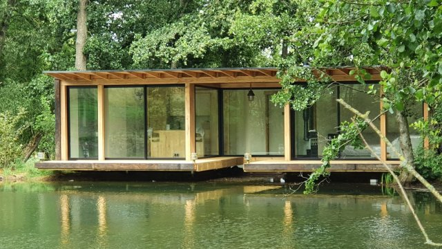 Schuco windows and doors - Boat House, Oxfordshire