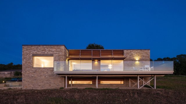 Modern Cotswold Stone House
