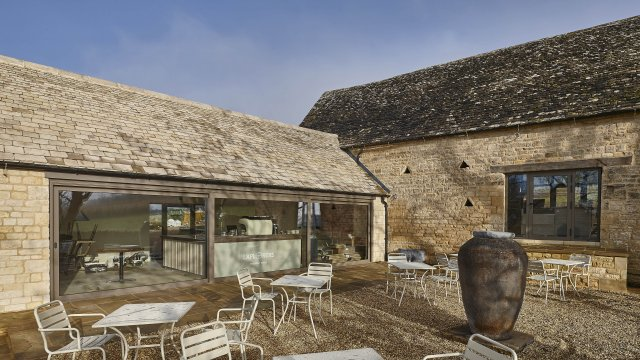 Cotswold Windows helps transform derelict barn